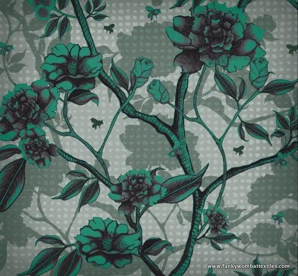 tamara schneider - blooming heaven (emerald)