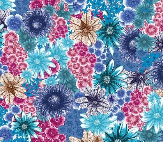tamara schneider - in bloom (spring blue)