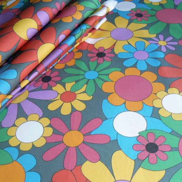 CurlyPops - Spring Bouquet Fabric