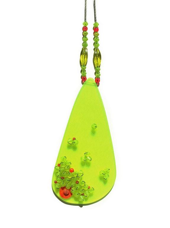 melinda young - acid confetti neckpiece