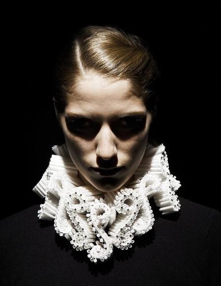 katherine wardropper - neck collar{via katherinewardropper.com