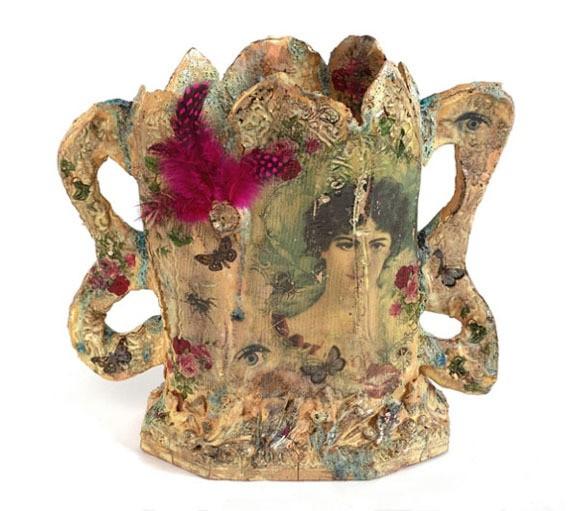 claire baker - rosa vase