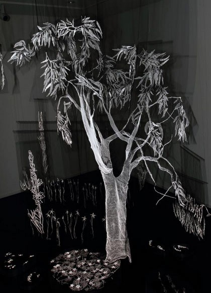 karen richards - sculpture (Flora Non Evidens)