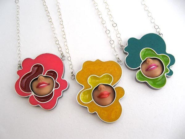 margaux lange - pop smile necklaces
