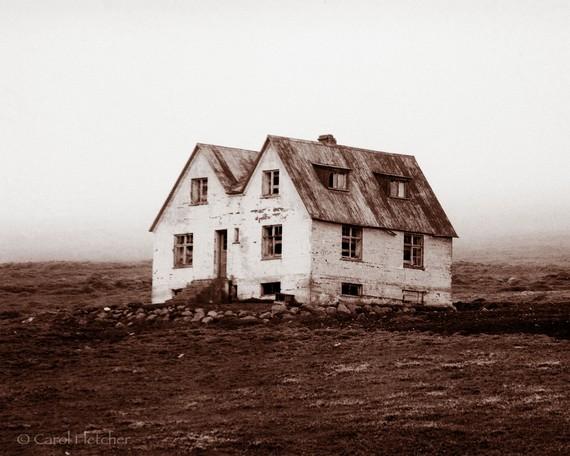 carol fletcher - iceland farmhouse