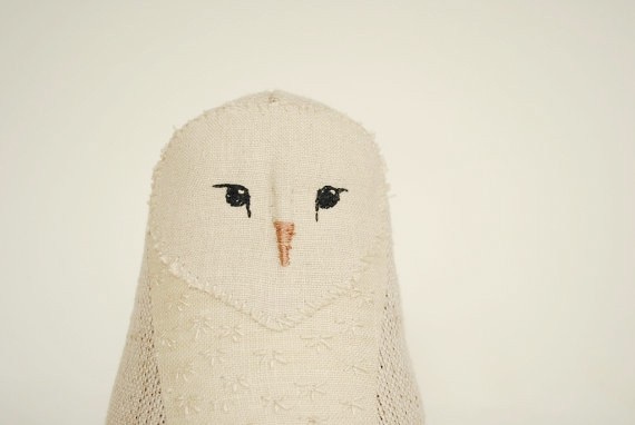 willowynn.etsy.com - embroidered owl