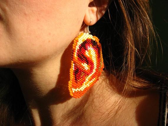 nepinka - big ear earrings