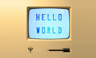 hello world (detail) - zunodesign via society6