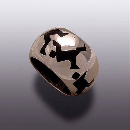 moshiko - talking heads ring