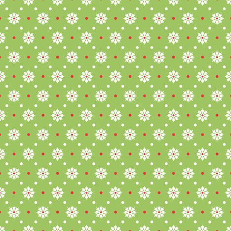sheri mcculley - chick-a-doodle floret - green