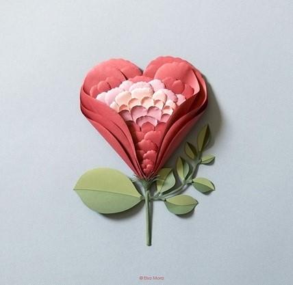 elsa mora - paper flower