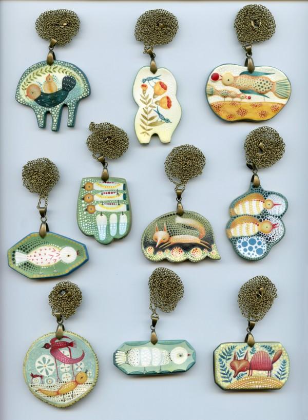 elsa mora - pendants