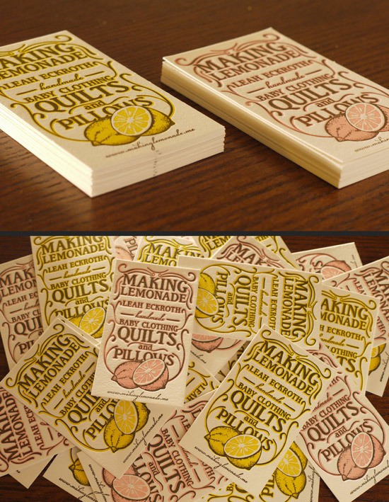 making lemonade - via designrfix.com