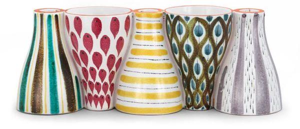 stig lindberg - 5-part vase