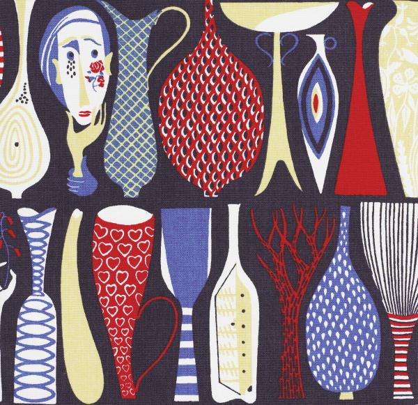 stig lindberg - pottery fabric
