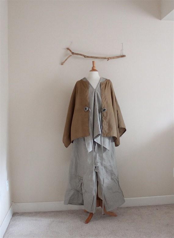 anny schoo - linen jacket shirt and pants