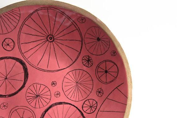 karoArt - bicycle plate