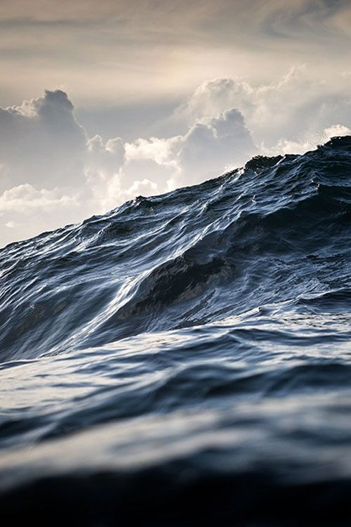 the sea - unknown source via pinterest