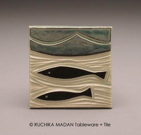 ruchika - tile - two fish