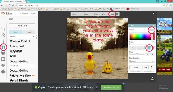 tractorgirl.com.au - picmonkey tutorial