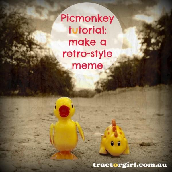 tractorgirl - picmonkey tutorial