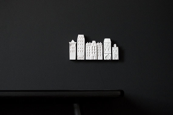 poast - architectural wall installation