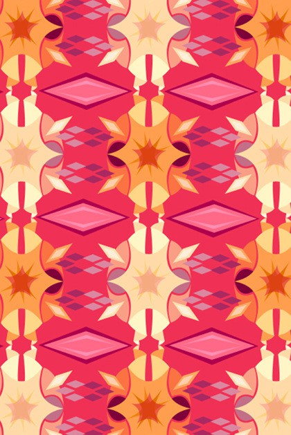 emily julstrom - magenta geometric
