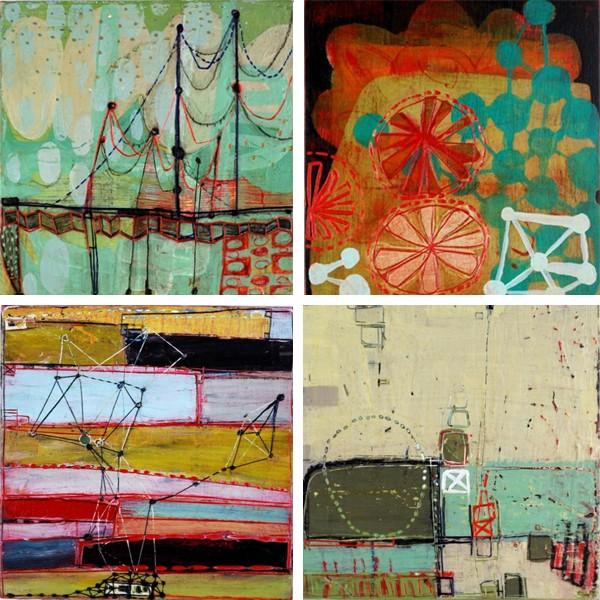 "Barbara Gilhooly - 100 x 6"" (selection)"