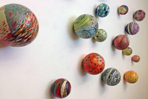 Barbara Gilhooly - balls for the wall
