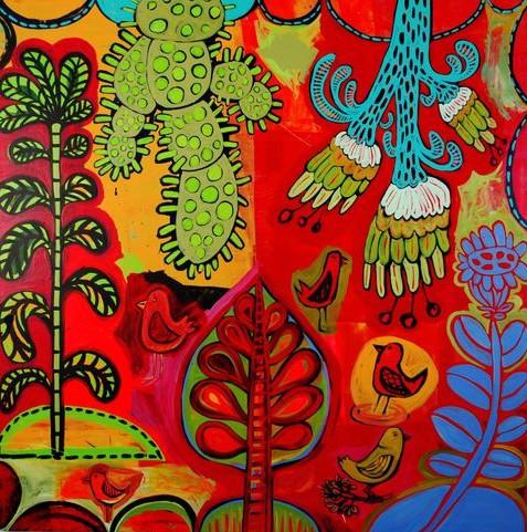 Barbara Gilhooly - botanical paintings