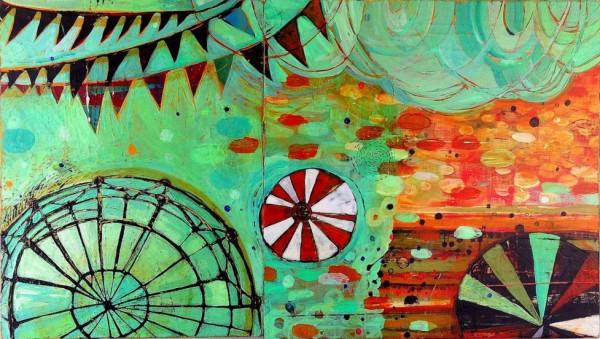 Barbara Gilhooly - acrylic on canvas
