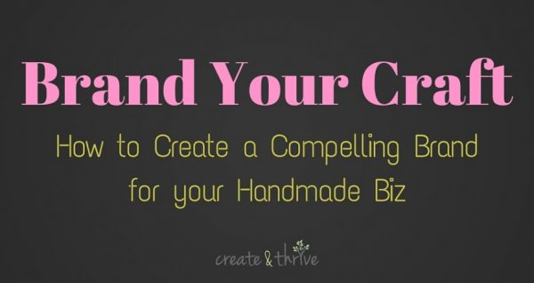 Brand Your Craft 14 day e-course