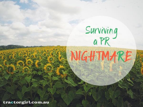 Small biz: Surviving a PR nightmare