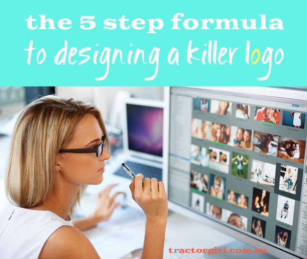The 5 Step Formula to Designing a Killer Logo