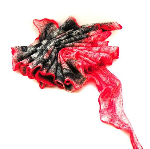 agnesfelt - wool and silk scarf