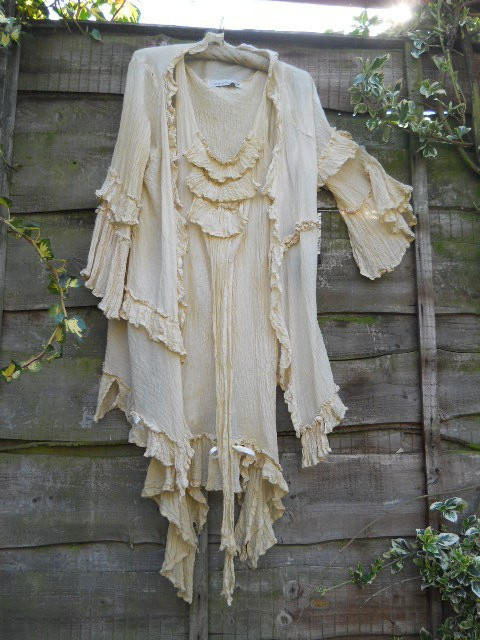 ritanotiara - jacket - cotton, silk voile