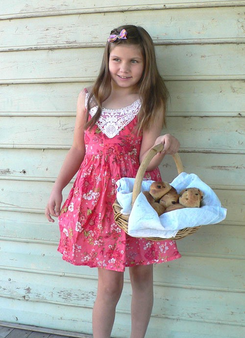 hot cross buns, delivered by the easter fairy