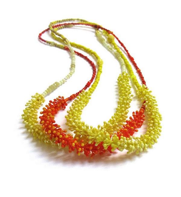 melinda young - 3 bud lei neckpieces