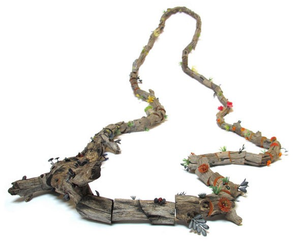 melinda young - aborescence - neckpiece