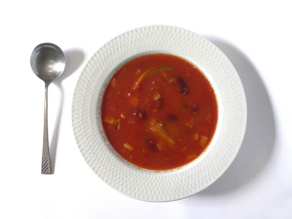 red kidney bean soup