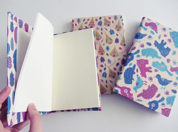 Emily Lambert - handbound sketchbooks