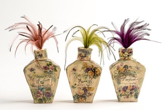 Claire Baker - perfume bottles