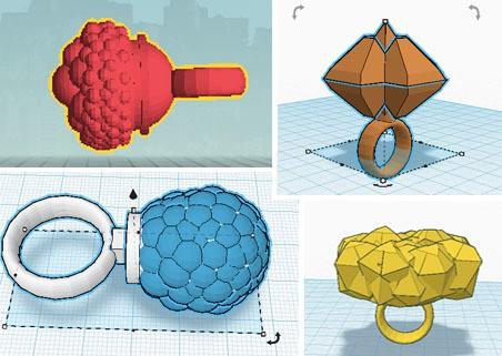 blingiebot - screenshot designs