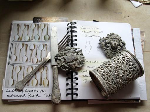 Claire Baker - sketch book