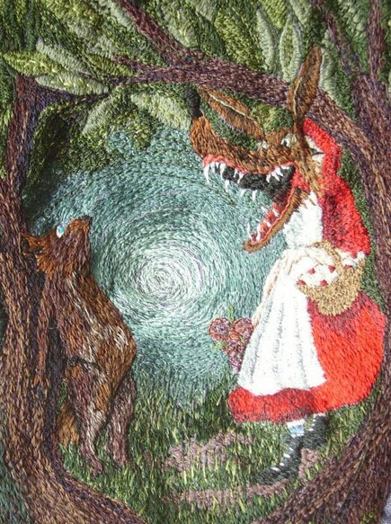 karen richards - narrative (red riding wolf)