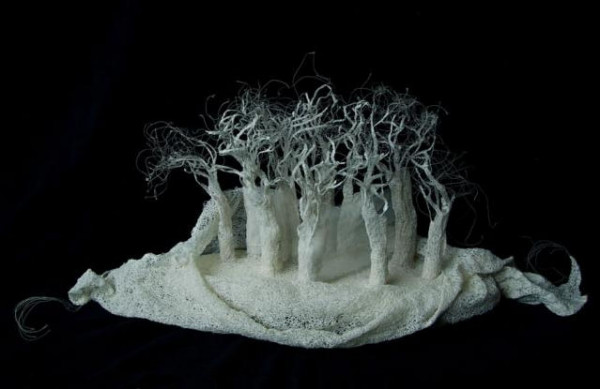 karen richards - sculpture (ruined forest)