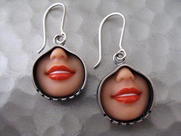 margaux lange - smile earrings