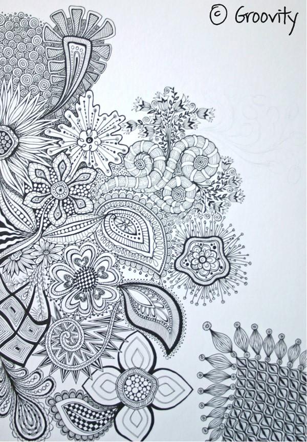mary tanana - gigantor doodle board