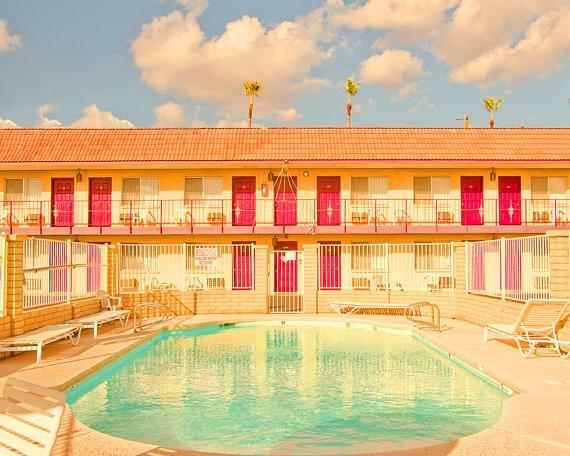 kaleidoscope - california retro hotel