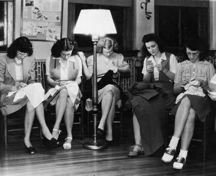 sewing circle - photographer unknown